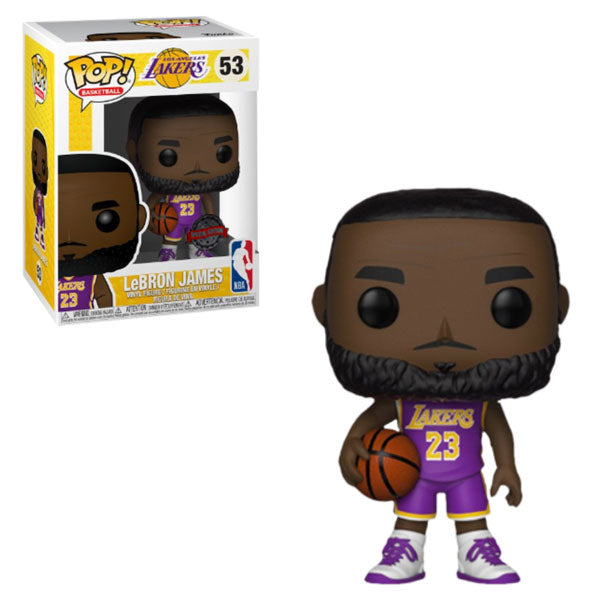 NBA - LEBRON JAMES (LAKERS - PURPLE JERSEY) EXCLUSIVE