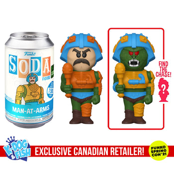 FUNKO SODA CAN: VINYL FIGURE - MOTU: MAN-AT-ARMS (EXCLUSIVE) (LIMITED 7,500)