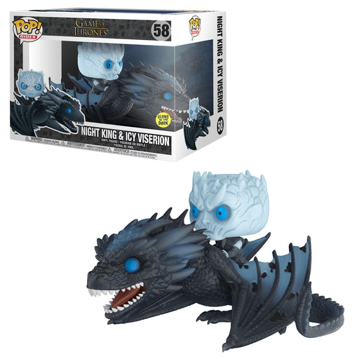 GAME OF THRONES - NIGHT KING ON ICY VISERION (POP RIDES)