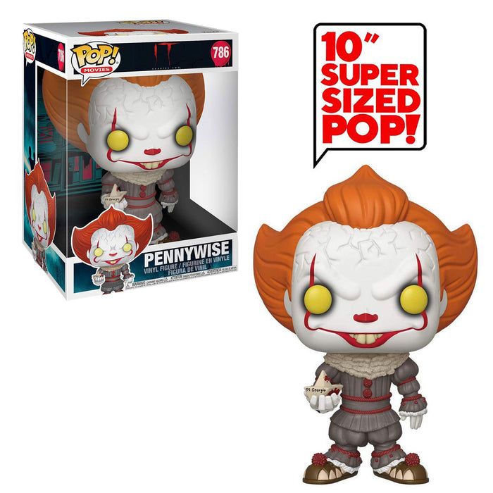 "IT: CHAPTER TWO - PENNYWISE (WITH BOAT) (10"")"