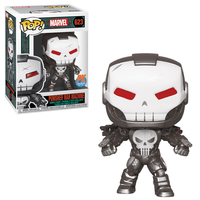 MARVEL: PUNISHER WAR MACHINE (METALLIC) (PX) (PRE-ORDER)