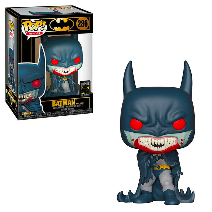 DC BATMAN - RED RAIN BATMAN (80TH ANNIVERSARY)