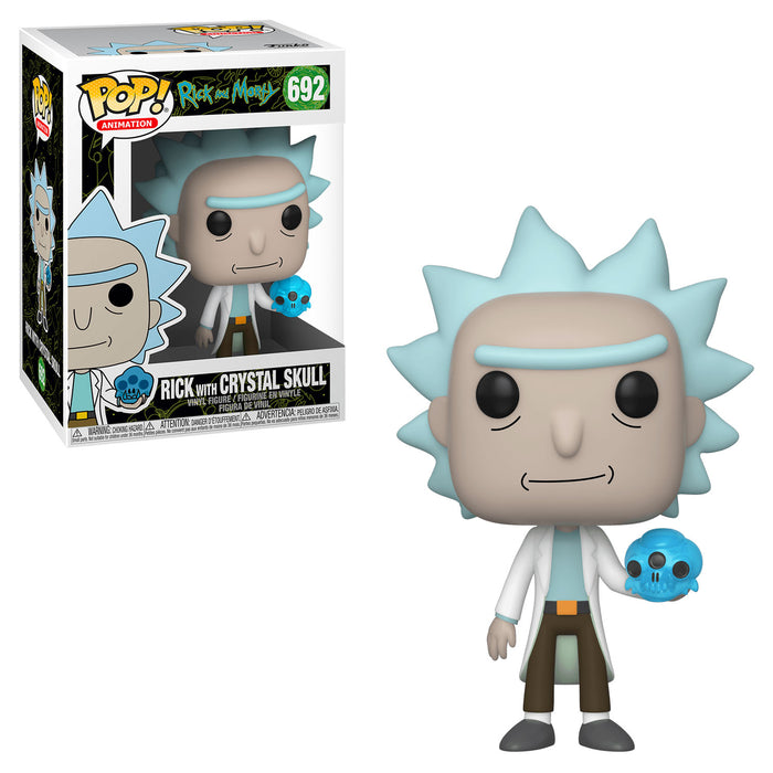 RICK AND MORTY - RICK WITH CRYSTAL SKULL (SEASON 4)