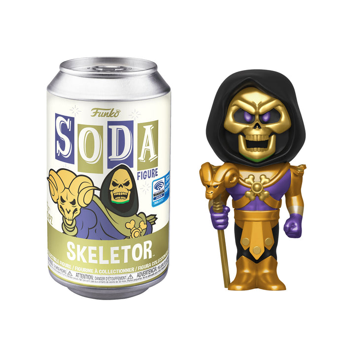 FUNKO SODA CAN: VINYL FIGURE - SKELETOR (WONDER-CON EXCLUSIVE) (LIMITED 3,000)