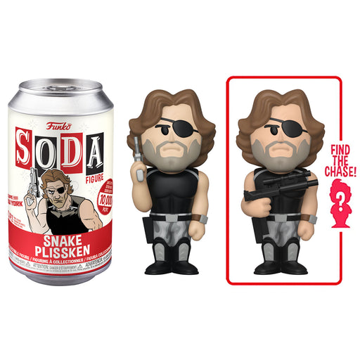 FUNKO SODA CAN: VINYL FIGURE - ESCAPE FROM NY: SNAKE PLISSKEN (LIMITED 10,000) (PRE-ORDER)