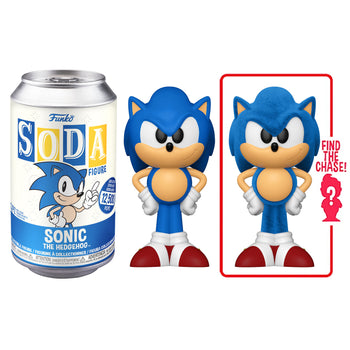 FUNKO SODA CAN: VINYL FIGURE - SONIC THE HEDGEHOG (LIMITED 12,500)
