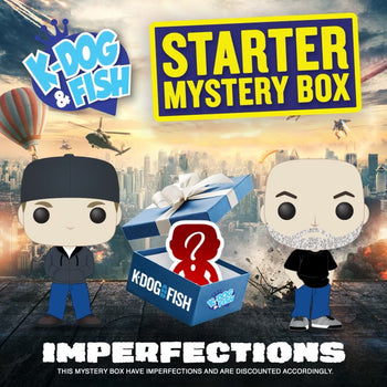 K-DOG & FISH STARTER MYSTERY BOX - IMPERFECTION SECTION
