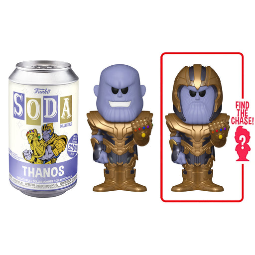 FUNKO SODA CAN: VINYL FIGURE - MARVEL: AVENGERS ENDGAME - THANOS (LIMITED 20,000) (PRE-ORDER)