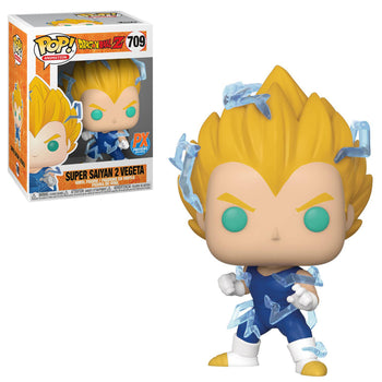 DRAGON BALL Z - SUPER SAIYAN 2 VEGETA (EXCLUSIVE) (BOX IMPERFECTIONS)