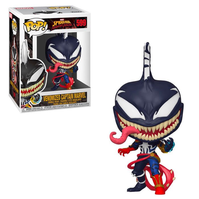 MARVEL: SPIDER-MAN (MAXIMUM VENOM) - CAPTAIN MARVEL