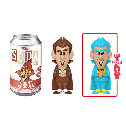 FUNKO SODA CAN: VINYL FIGURE - COUNT CHOCULA (LIMITED 7,500)