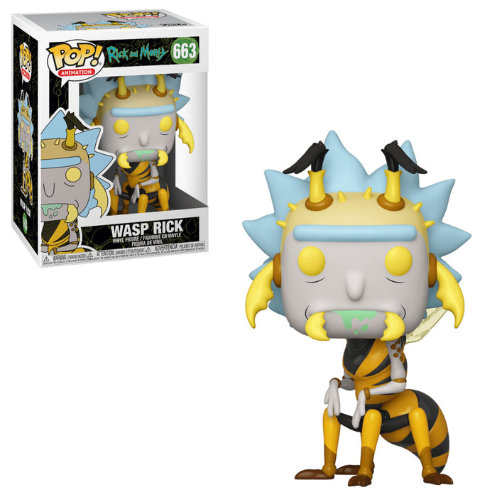 RICK AND MORTY - WASP RICK (SEASON 4)