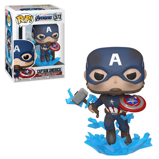 AVENGERS: ENDGAME (WAVE 3) - CAPTAIN AMERICA (WITH MJÖLNIR & SHIELD)