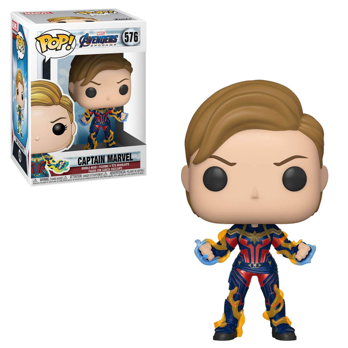 AVENGERS: ENDGAME (WAVE 3) - CAPTAIN MARVEL (NEW HAIRCUT) (PRE-ORDER)
