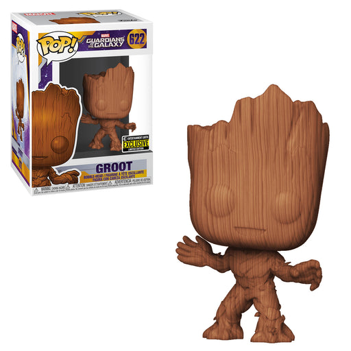 GUARDIANS OF THE GALAXY - GROOT (WOODEN) EXCLUSIVE