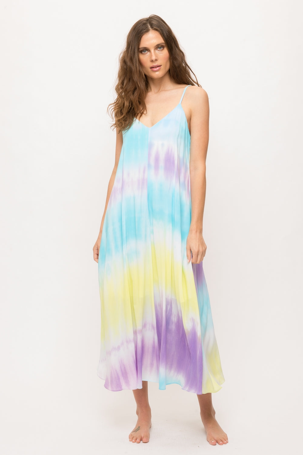 Water Color Maxi Dress
