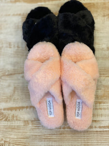 Open Toe Comfy Slippers
