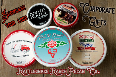 Customized Corporate Gifts - Assorted Pecan Tins