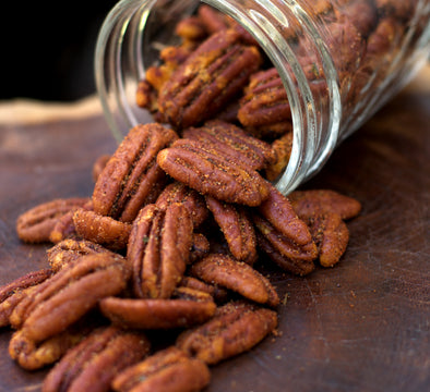 Cajun Roasted Pecan Halves - A Texas & Louisiana Favorite