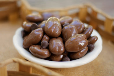 Our sugar free chocolate coated pecan halves are just what the doctor ordered! Available in 16 ounce bags.