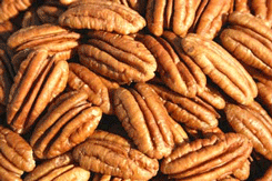 Delicious and nutritious! These Texas pecans will entice any nut lover! We offer golden fresh pecan halves that make for wonderful texas gifts!