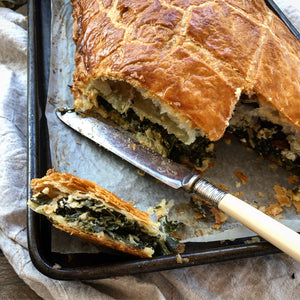 Kale Rough Puff Pie