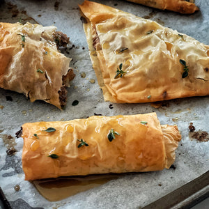 Apple Baklava Rolls