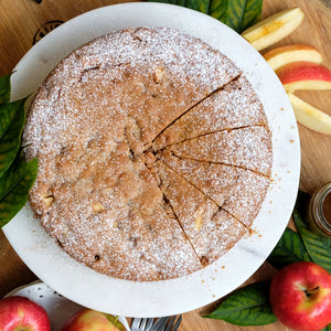 Milopita (Rustic Apple Cake) for CSR Sugar