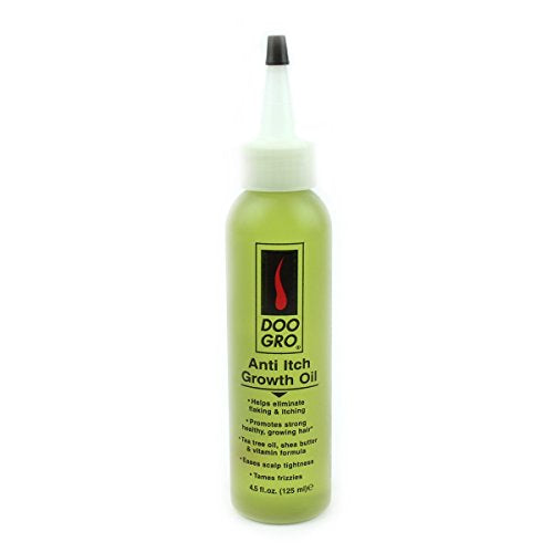 DOO GRO Anti-Itch Growth Oil, 4.5 oz : Hair Treatment : Beauty