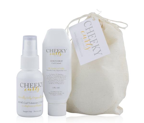 Cheeky Curls Mini Sample Set (Curl Custard + Curl Volumizer)