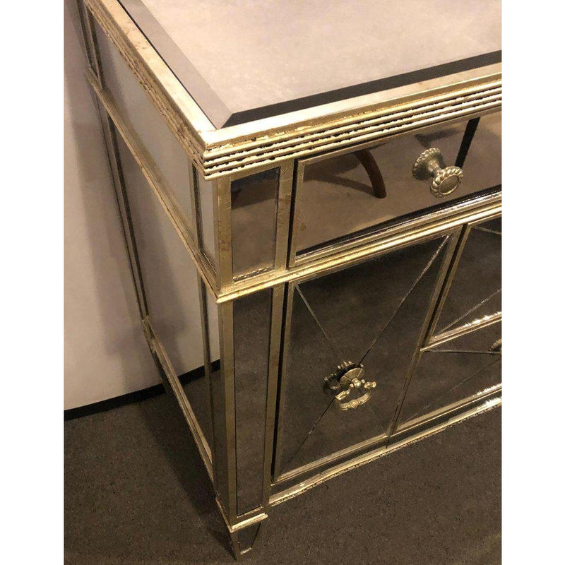 1960s Hollywood Regency Large Nightstand