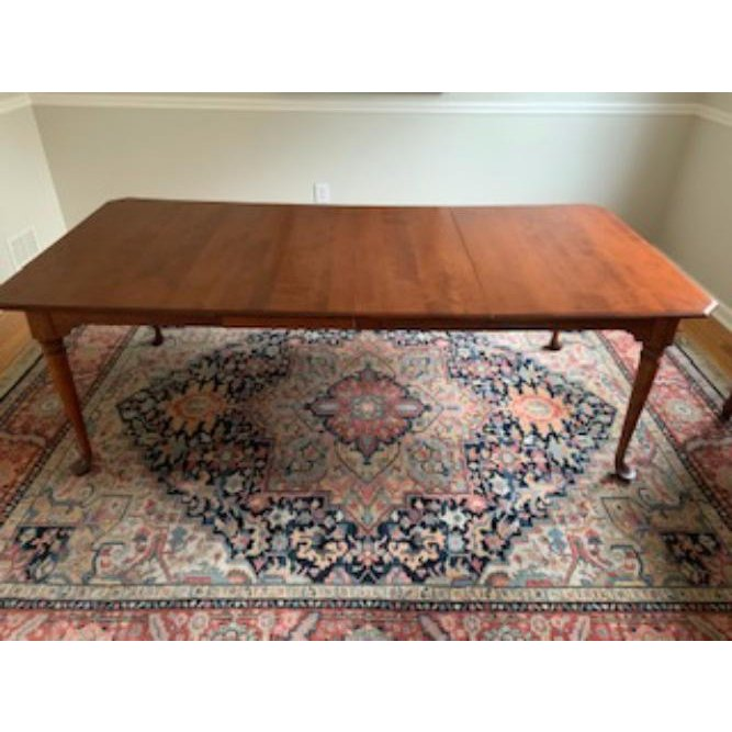 1990s Traditional Nichols and Stone Antique Dining Table