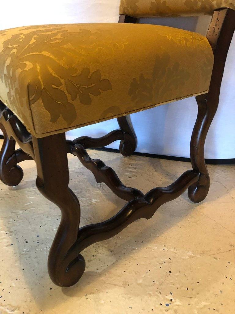 Set of Eight Georgian Style Dining Chairs