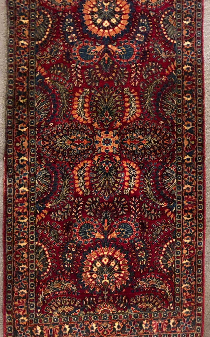 Fine 1920s Sarouk Persian Carpet
