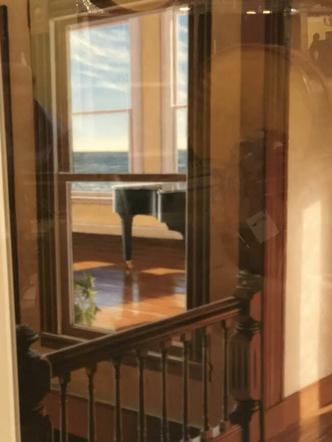 "Edward Gordon ""Late Afternoon"" Framed Print in a Mahogany Frame"