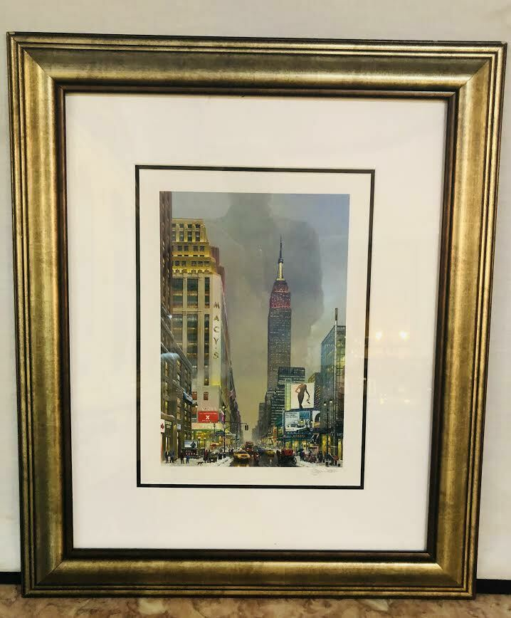 Alexander Chen Empire State Building Print Signed and Numbered