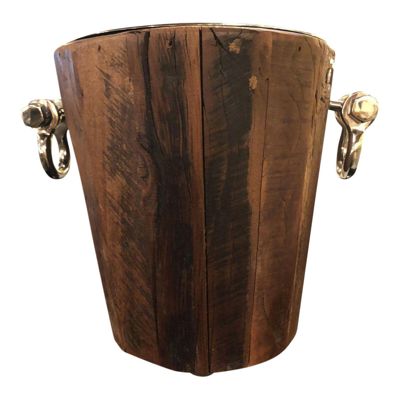 Wooden Rustic Style Ice Bucket
