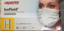 Crosstex  Earloop Face Masks, Blue, 50/bx  Level 1 (Made in USA)