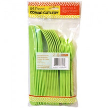 Lime Green Heavyweight Cutlery Combo 24 Count (Case Qty: 576)
