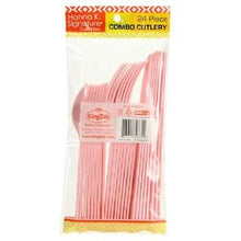Light Pink Heavyweight Cutlery Combo 24 Count (Case Qty: 576)