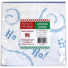 Christmas Santa Lunch Napkin 24 Count (Case Qty: 1728)
