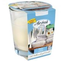 Fresh Linen Candle in Glass Jar 3oz (Case Qty: 12)