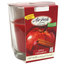 Apple Cinnamon Candle in Glass Jar 3oz (Case Qty: 12)