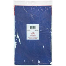 "84"" Blue Round Plastic Tablecover 36 Count (Case Qty: 36)"
