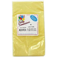 Yellow Guest Towels 16 Count (Case Qty: 576)