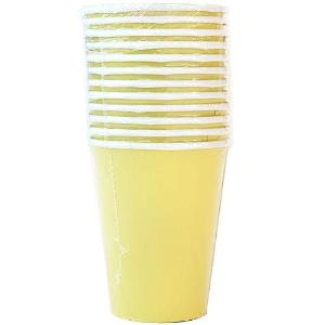 9oz Yellow Paper Cup 12 Count (Case Qty: 432)