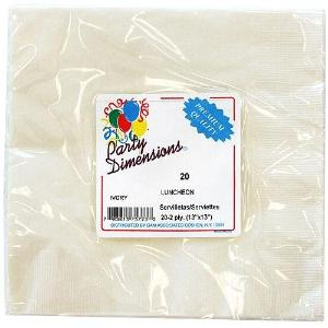 Ivory Lunch Napkins 20 Count (Case Qty: 720)