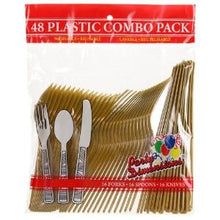 Gold Combo Cutlery 48 Count (Case Qty: 2304)