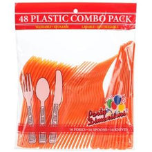 Orange Combo Cutlery 48 Count (Case Qty: 2304)