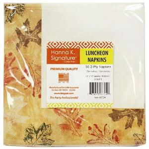Leaves Lunch Napkin 36 Count (Case Qty: 1296)